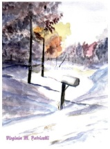 Mail Box in Snow