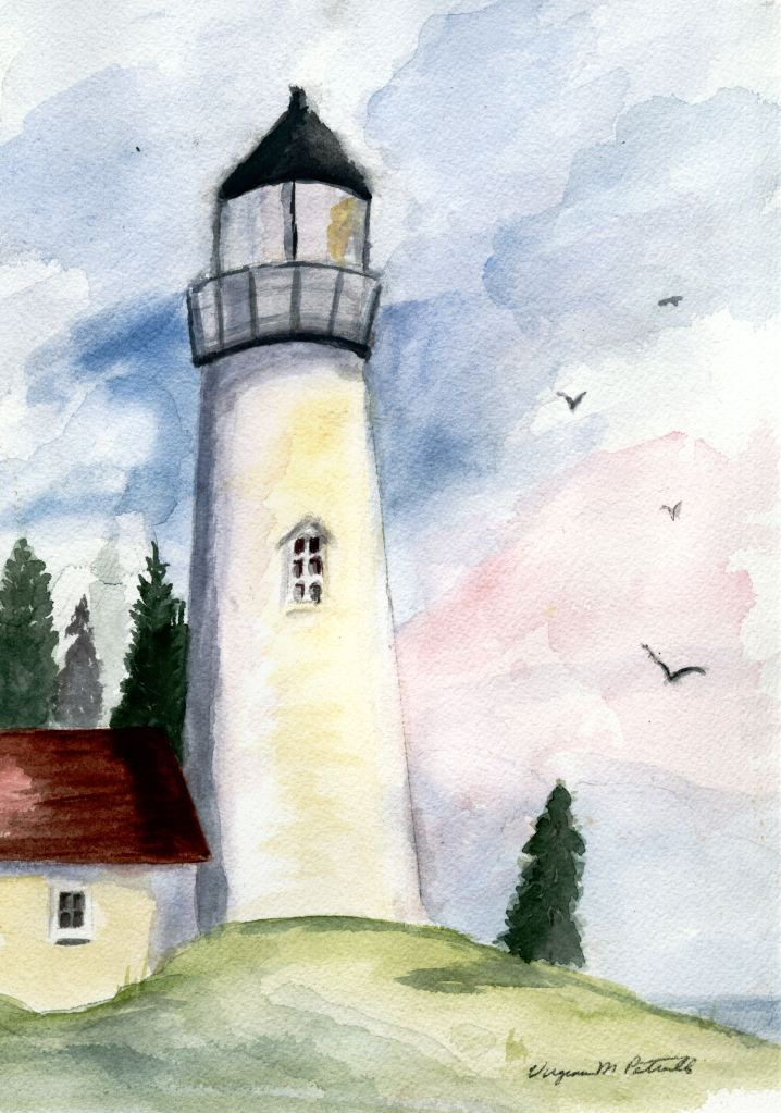 Lighthouse on Sunny Day