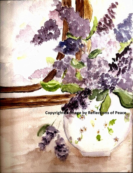 Lilacs on the Dresser