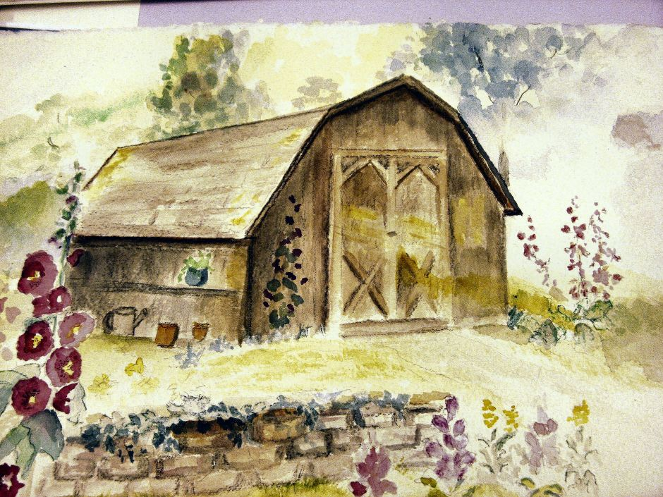 Barn in Summer