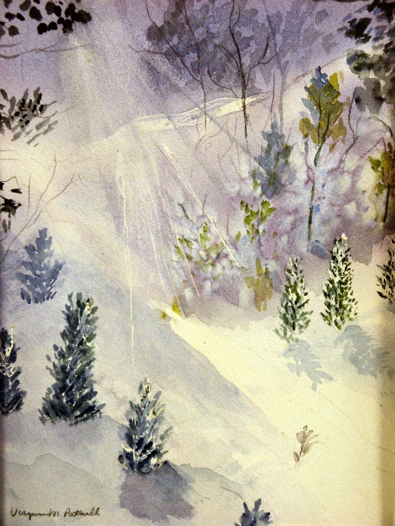 Snow in Lavender